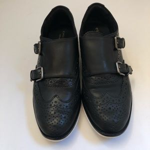 Cole Haan Grand OS Women Black Size 5B Sneakers.
